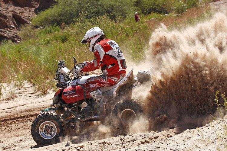 Łukasz Łaskawiec - Dakar 2011