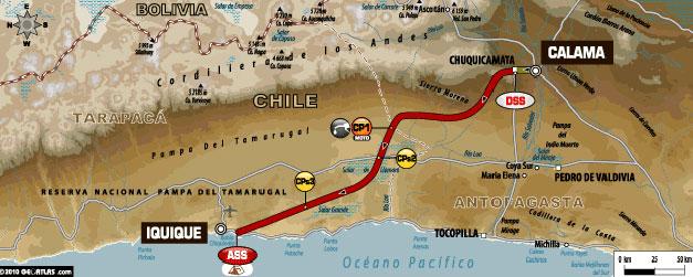 DAKAR 2011 – etap V Calama – IQUIQUE (6.01.2011)