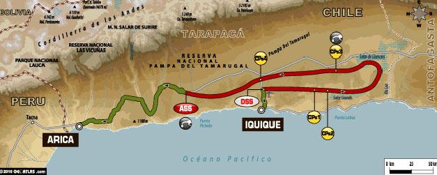 DAKAR 2011 – etap VI IQUIQUE – ARICA (7.01.2011)