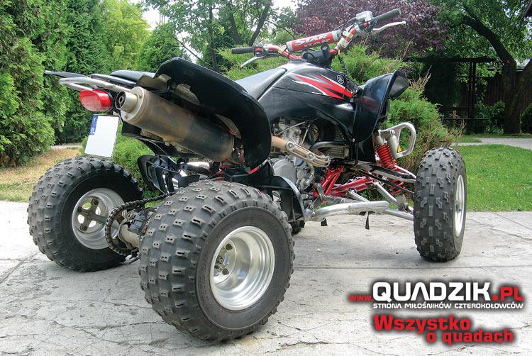 Sprzedam: Yamaha YFZ 450, rok 2005, jeżdżona w zawodach...