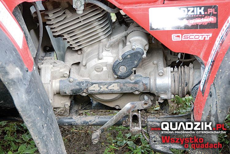Silnik jest najważniejszym i najdroższym elementem quada. Jego stan wiele mówi o użytkowaniu całego pojazdu.